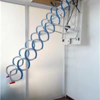 进口电动阁楼伸缩折叠升降复式别墅室内楼梯