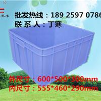 供应广东塑料周转箱/潮州塑料水箱乔丰厂家
