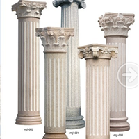 供应湖南长沙罗马柱 欧式大理石罗马柱