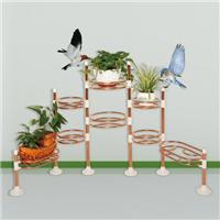 不锈钢栏杆/6管8篮不锈钢花架