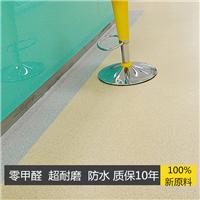 塑胶地板厂家 走道专用高度耐磨PVC塑胶地板