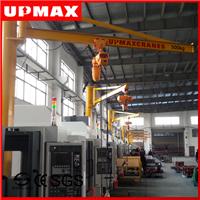 供應蘇州懸臂機械手吊車,1噸折臂吊,上海1t懸臂吊