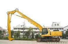 建华牌jh005挖掘机三段臂-挖掘机拆楼臂