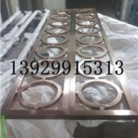 供应不定尺不锈钢做旧红古铜花格屏风厂家