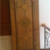 复古  实木复合套装门