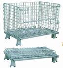 供应标准规格仓储笼,物豪折叠铁筐