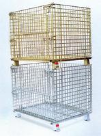 供应德阳仓库笼,德阳金属折叠铁筐生产企业