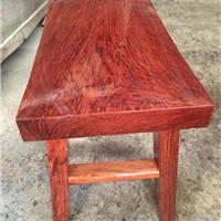 供应巴花条凳 巴花家具 红木工艺品