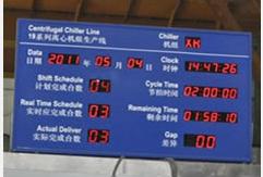 上海央达供应精益生产管理专用LCD电子看板