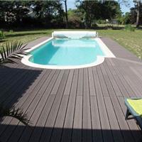 供应户外防水木塑实心地板