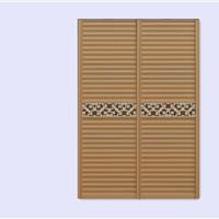 供应波浪板衣柜门
