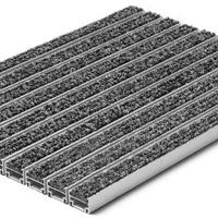 河南铝合金防尘地垫 铝合金门垫地毯防滑垫