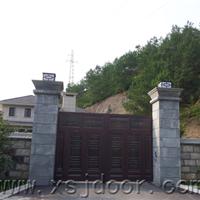 供应黑铜铝铜智能庭院门 院墙门 围墙门