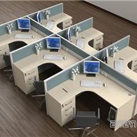 厂家按实地定做屏风办公桌 电脑桌 培训桌
