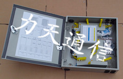 供应1分16光分路器箱、PLC光纤分纤箱厂家