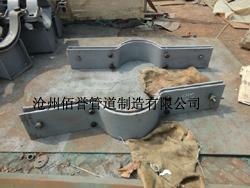 厂家销售双螺栓管夹_A5-1基准型管夹