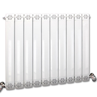 厂家供应7575,8080铜铝复合柱形暖气片散热器质优价廉