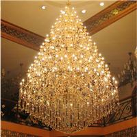 酒店大堂专用灯复式楼梯吊灯非标定制