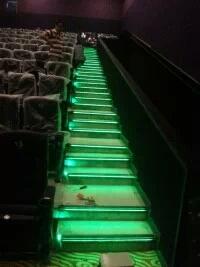 电影院线光源台阶灯