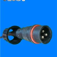 供应广东防水插头佛山橡胶线插头电源线插头