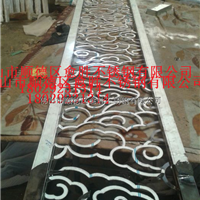 批发供应南京不锈钢拉丝花格屏风异型订做