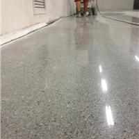 东莞塘厦水磨石地坪硬化施工工艺