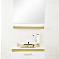 森福莱 欧式简约不锈钢浴室柜组合60cm