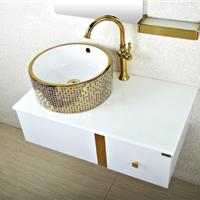 森福莱浴室柜不锈钢卫浴柜简约欧式洗漱台