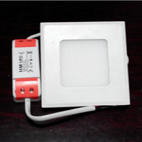精品灯具、灯饰方形2.5寸 LED筒灯天花灯