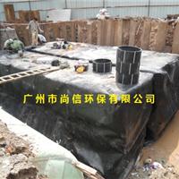 广东广州佛山地埋式一体化雨水收集回用系统