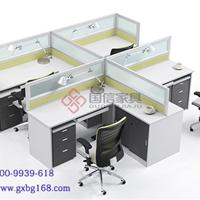 东莞办公家具组合式屏风桌办公卡座国信家具