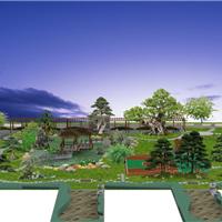 东莞户外花园设计、垂直绿化施工、绿化工程