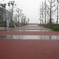 供应上海�Z石生态彩色透水地坪