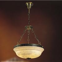 全铜吊灯 欧式全铜灯 全铜云石灯
