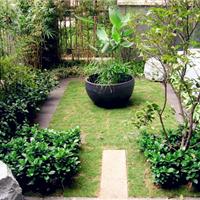 供应武汉私家花园简约入户小庭院设计建造