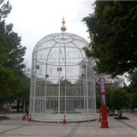上海大型鸟笼/特大鸟笼/铁艺鸟笼/大型钢构鸟笼
