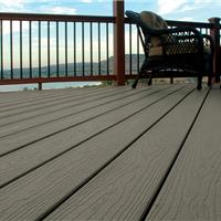 常熟生态木塑木地板WPC再生木PVC长城板