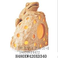 供应砂岩雕塑/砂岩雕塑灯/人造砂岩灯罩