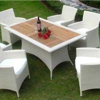 供应深圳户外家具藤编家具仿藤桌椅咖啡厅桌椅