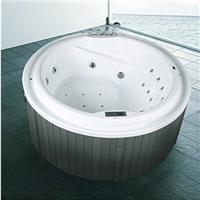 供应尚雷仕圆形冲浪按摩浴缸