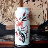 陶瓷花瓶摆件 室内装饰花瓶 高档手绘花瓶