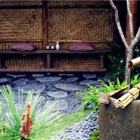 供应武汉别墅私家花园日式花园设计