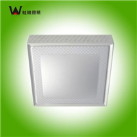 深圳LED蛙眼照明22W方形吸顶灯铁艺烤漆
