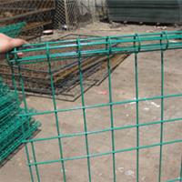 河北厂家供应市政园林用浸塑双圈护栏网