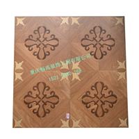 供应重庆市卧室家装修柚木实木地板