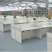 南开区屏风办公桌屏风工位桌一对一培训桌