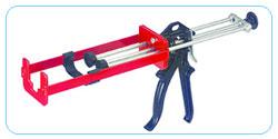 供应用于长胶筒的多比率双组份手动胶枪