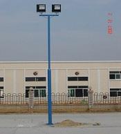 供应篮球场内外热镀锌锥形灯杆灯柱