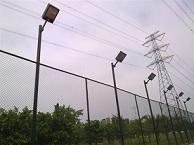 供应网球场灯光内外热镀锌网球场灯柱