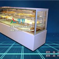 供应日式直角蛋糕柜,白色日式风冷柜